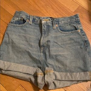 Urban Outfitters BDG Mom Hi-Rise Shorts